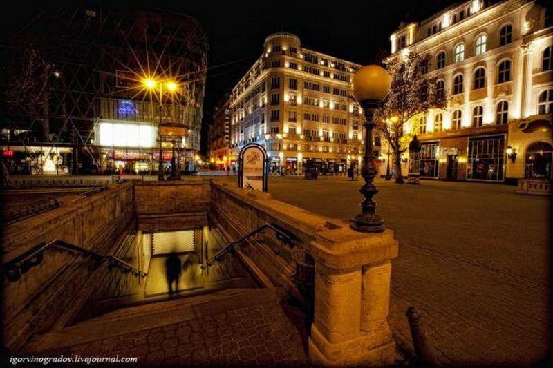 Ночной Будапешт - прогулки по венгерской столице 20