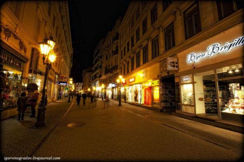 Ночной Будапешт - прогулки по венгерской столице 23