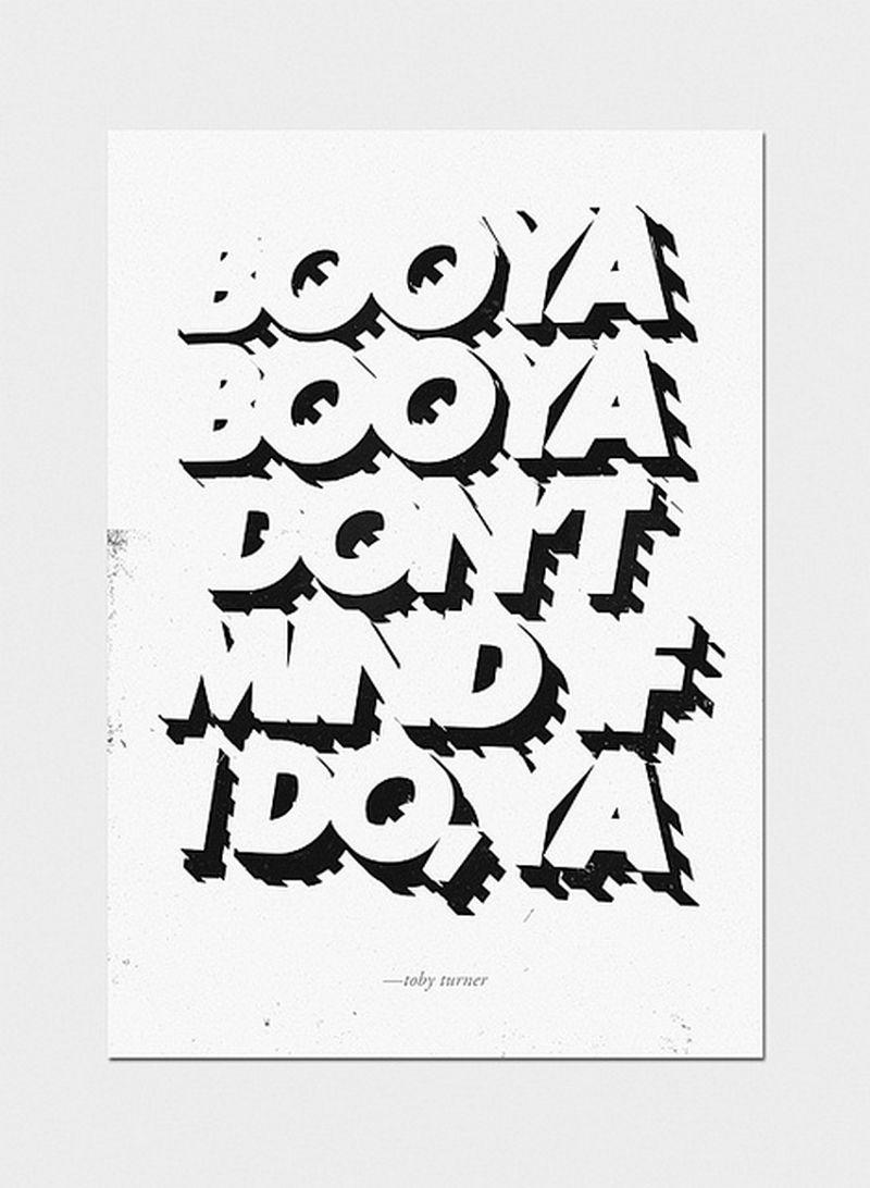 Леттеринг и типографика - 35 отличных примеров 9