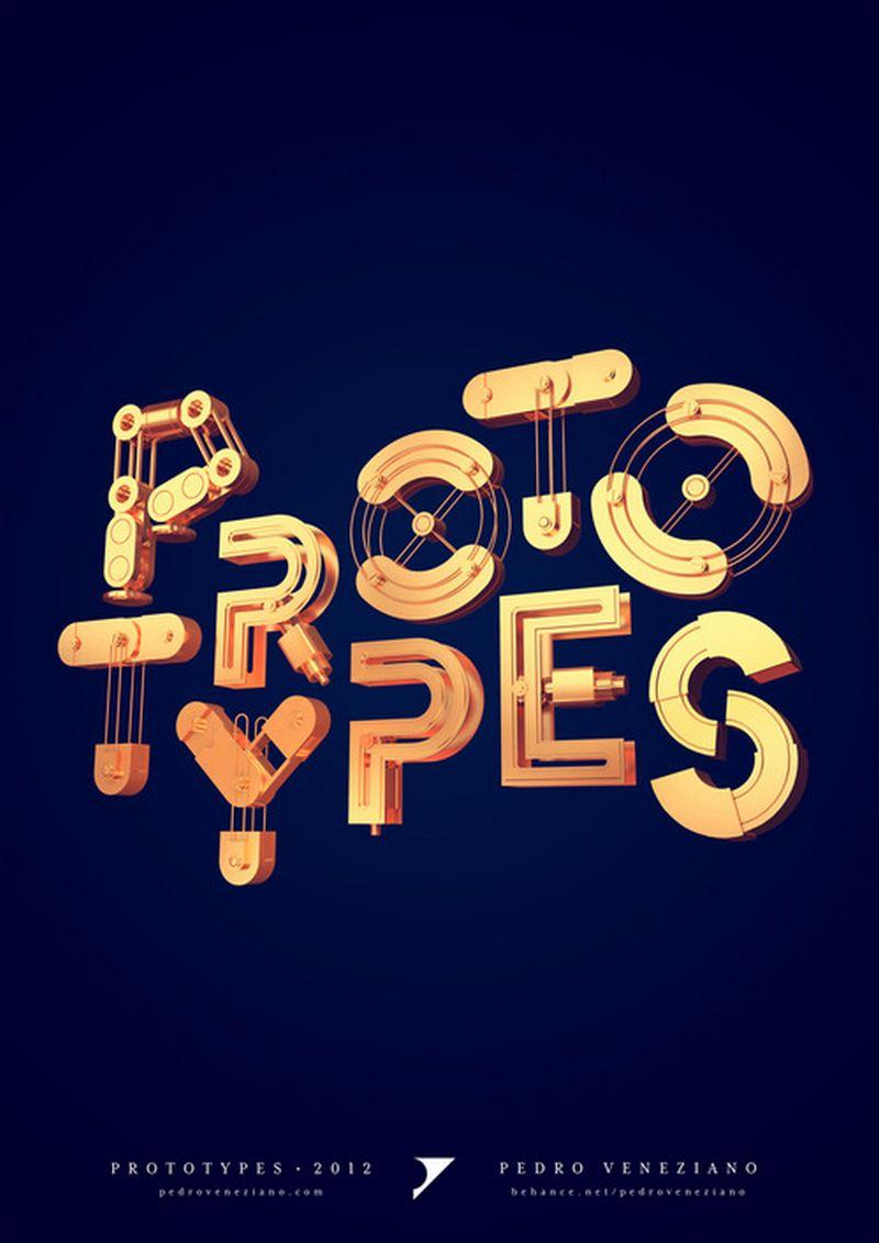 Леттеринг и типографика - 35 отличных примеров 14