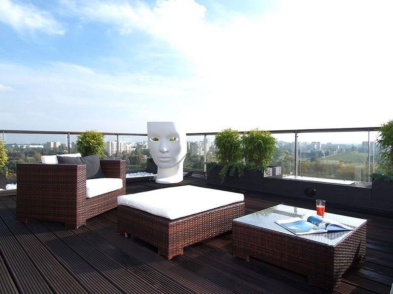 Красивая квартира с террасой 2