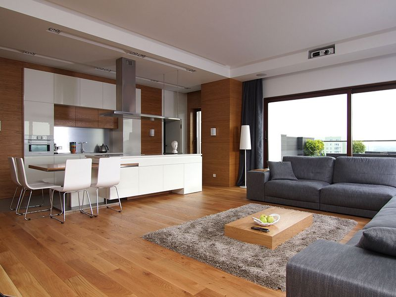 Красивая квартира с террасой 6