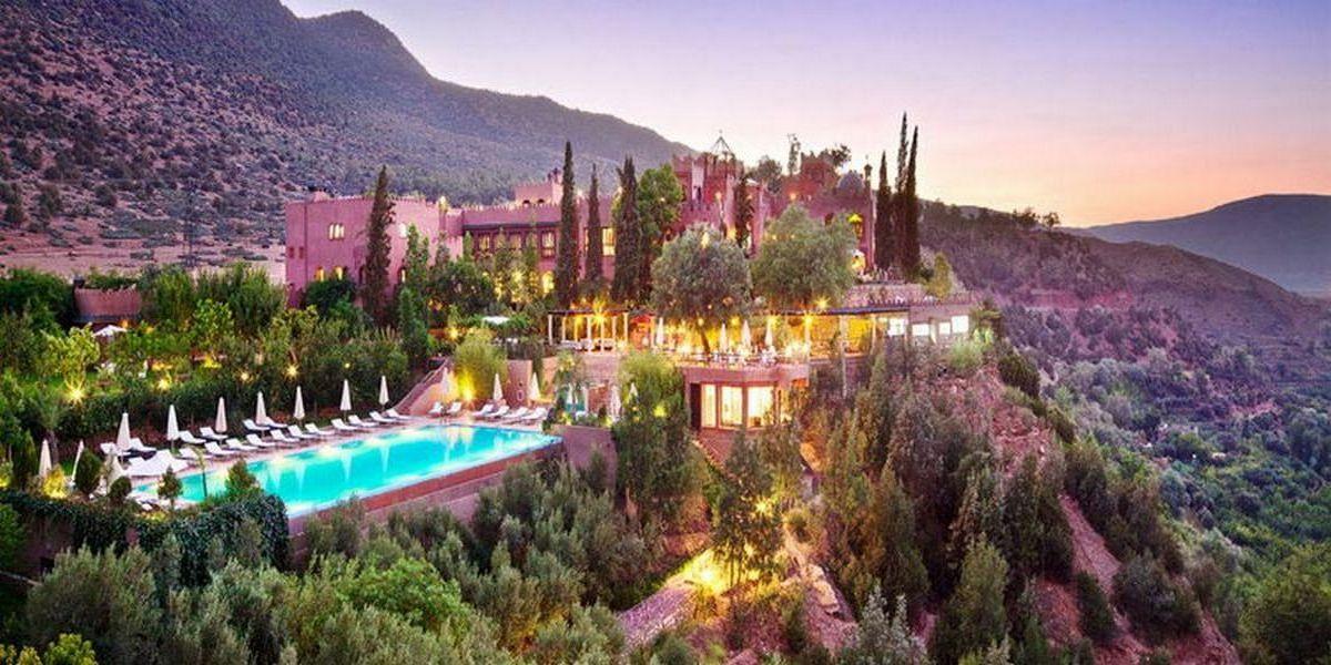 Отель Kasbah Tamadot - самый красивый отель Марокко 1