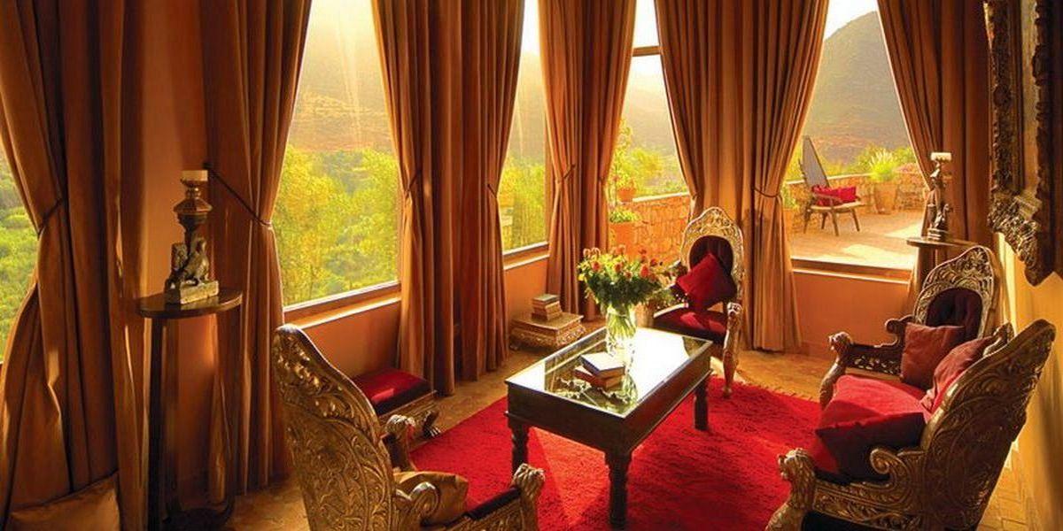 Отель Kasbah Tamadot - самый красивый отель Марокко 2