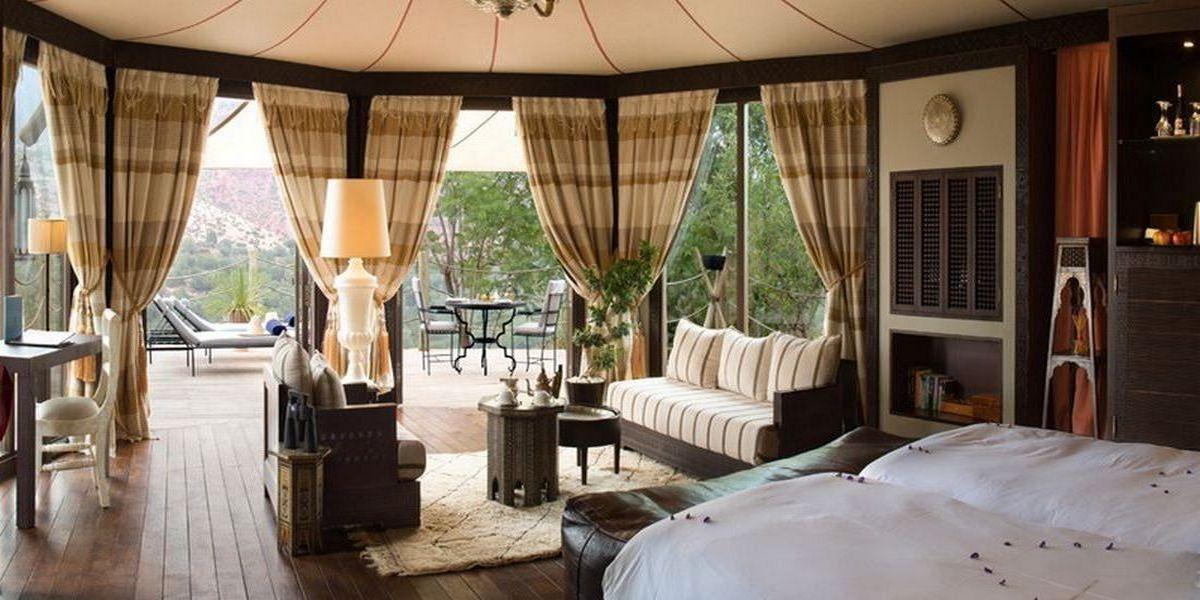 Отель Kasbah Tamadot - самый красивый отель Марокко 3