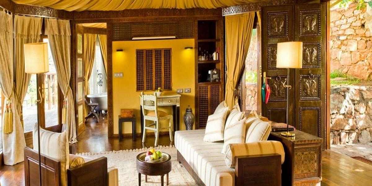Отель Kasbah Tamadot - самый красивый отель Марокко 4