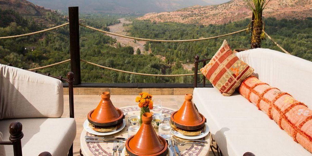 Отель Kasbah Tamadot - самый красивый отель Марокко 6