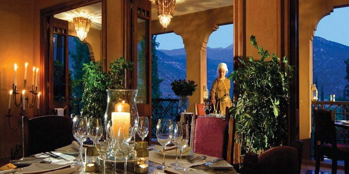 Отель Kasbah Tamadot - самый красивый отель Марокко 7