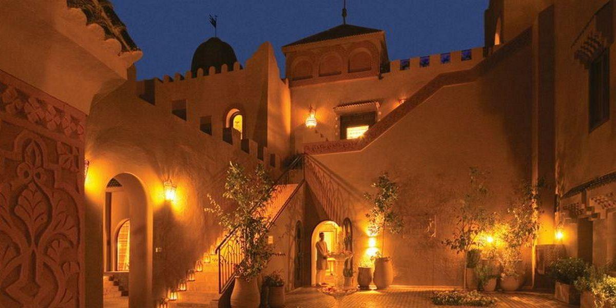 Отель Kasbah Tamadot - самый красивый отель Марокко 8