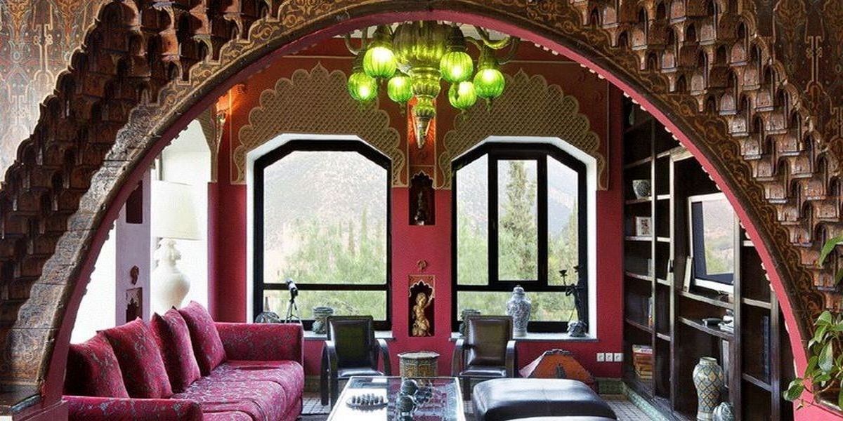 Отель Kasbah Tamadot - самый красивый отель Марокко 9