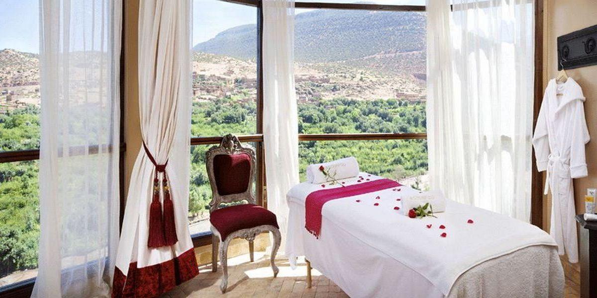 Отель Kasbah Tamadot - самый красивый отель Марокко 10