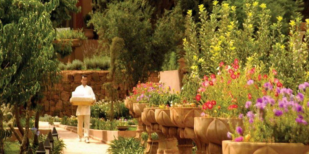 Отель Kasbah Tamadot - самый красивый отель Марокко 11