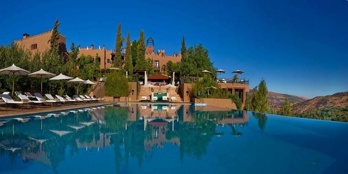 Отель Kasbah Tamadot - самый красивый отель Марокко 12