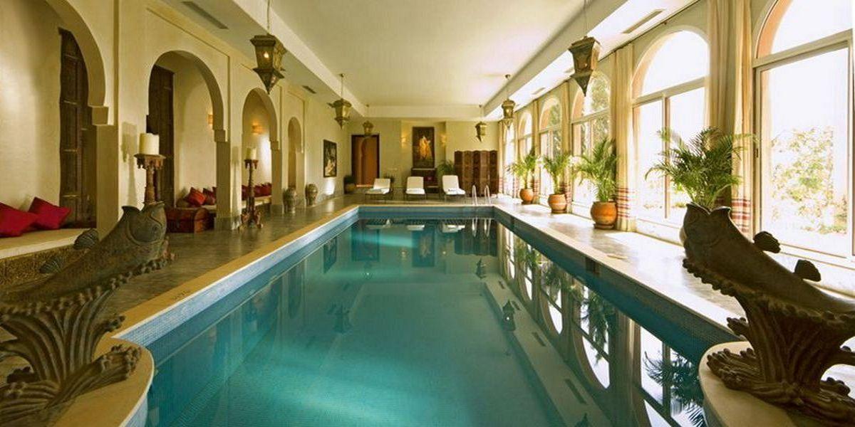 Отель Kasbah Tamadot - самый красивый отель Марокко 13