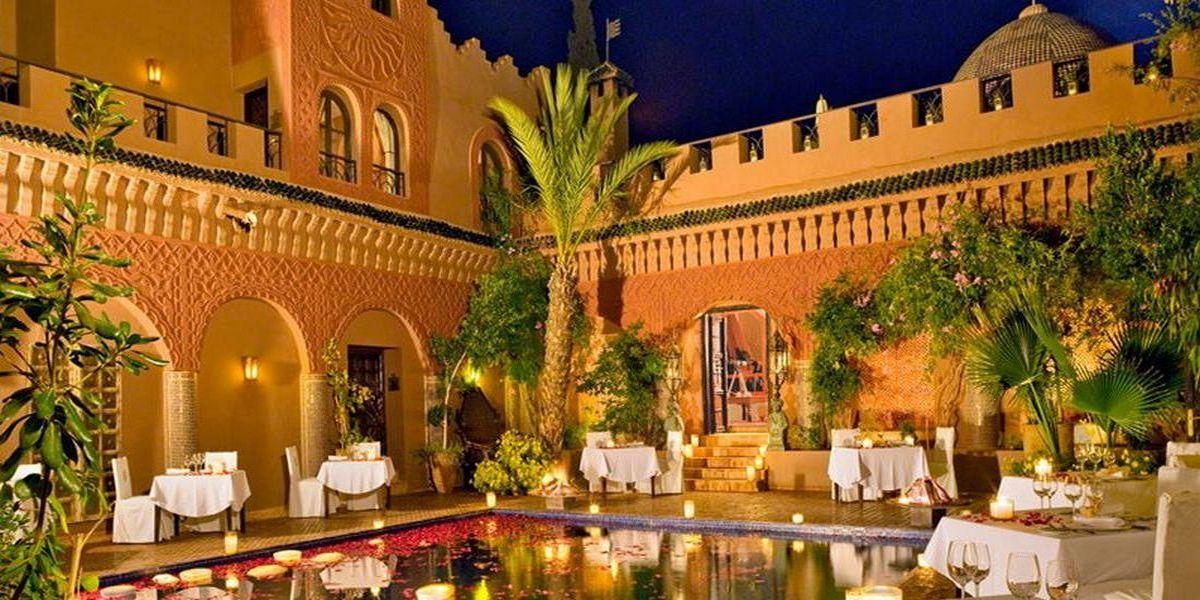 Отель Kasbah Tamadot - самый красивый отель Марокко 14