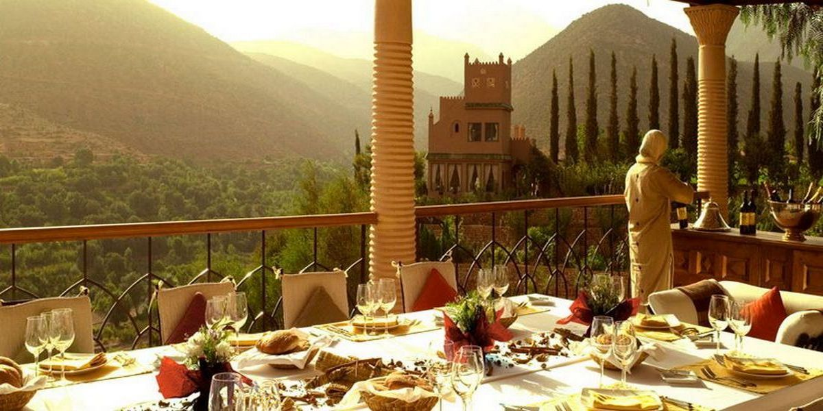 Отель Kasbah Tamadot - самый красивый отель Марокко 15