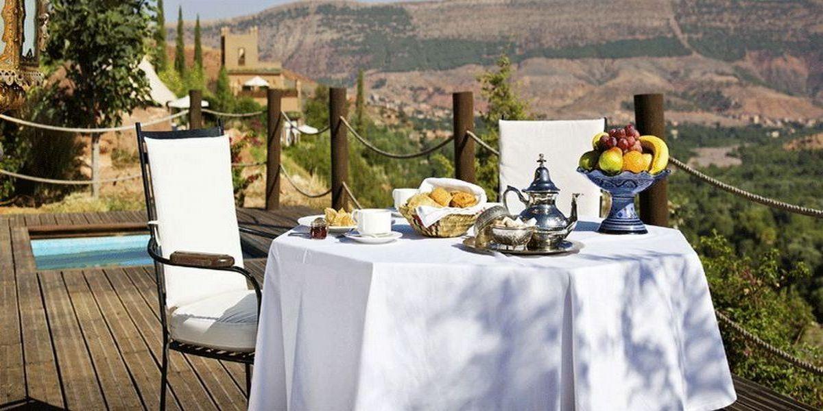 Отель Kasbah Tamadot - самый красивый отель Марокко 16