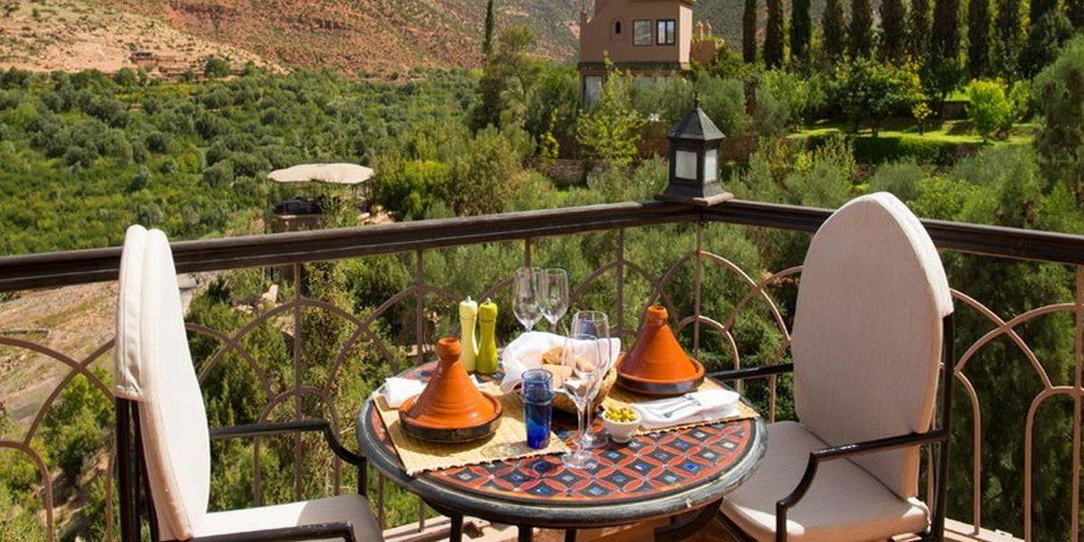 Отель Kasbah Tamadot - самый красивый отель Марокко 17