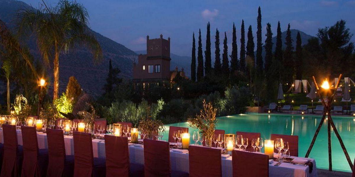 Отель Kasbah Tamadot - самый красивый отель Марокко 18