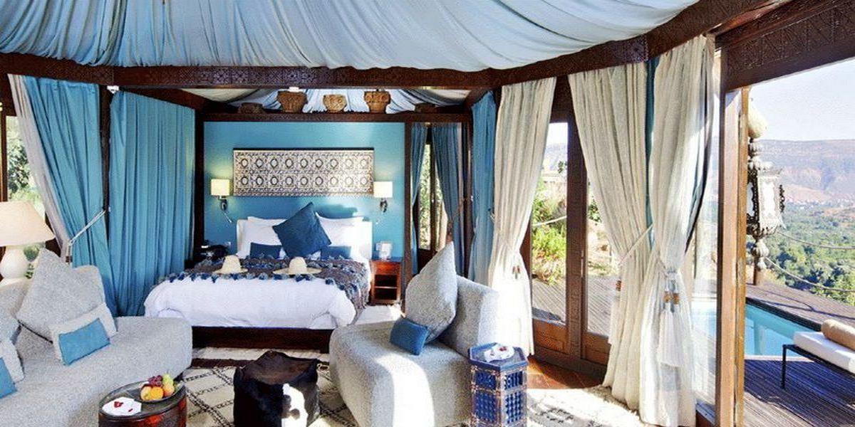 Отель Kasbah Tamadot - самый красивый отель Марокко 19