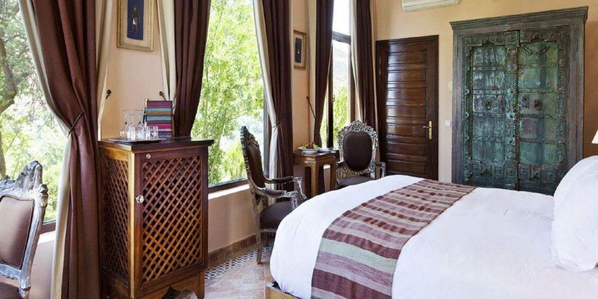 Отель Kasbah Tamadot - самый красивый отель Марокко 20