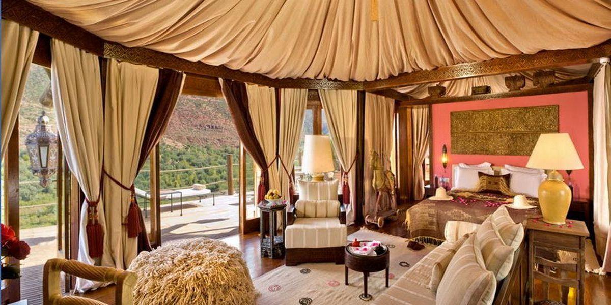 Отель Kasbah Tamadot - самый красивый отель Марокко 22