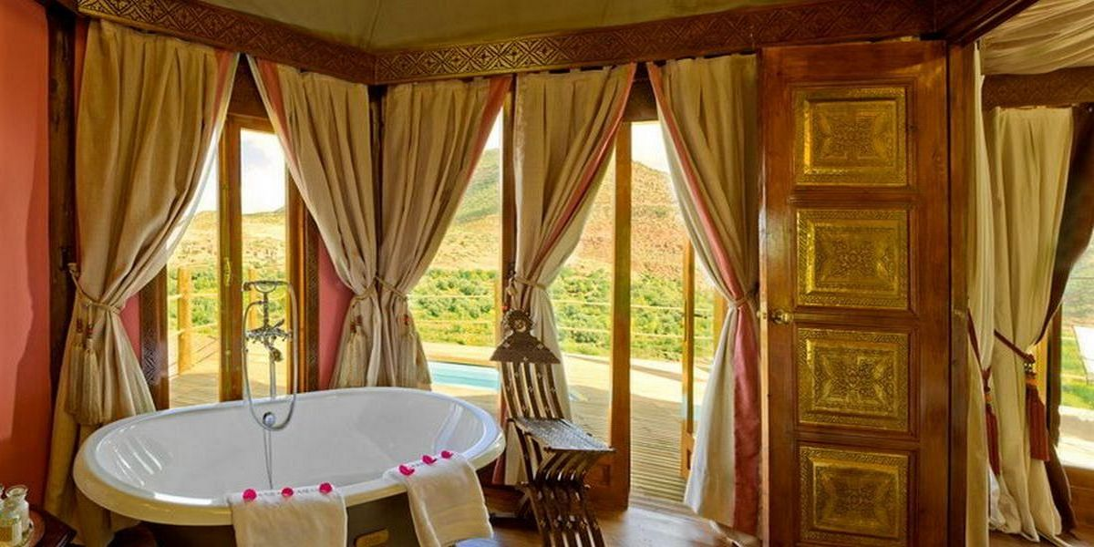 Отель Kasbah Tamadot - самый красивый отель Марокко 23