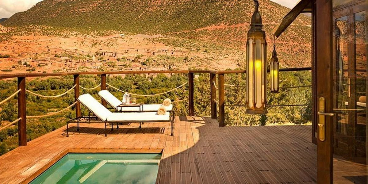 Отель Kasbah Tamadot - самый красивый отель Марокко 24