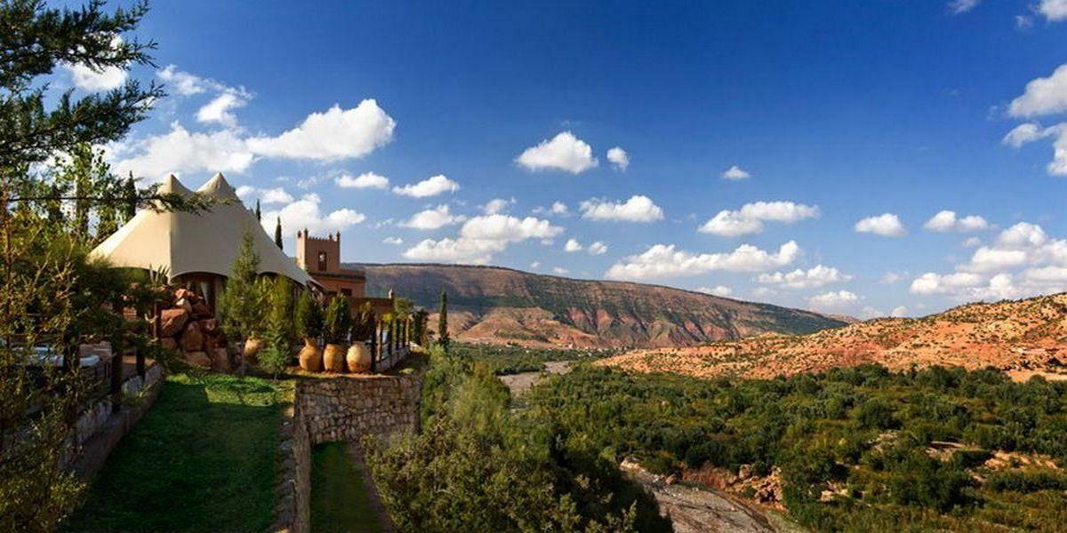 Отель Kasbah Tamadot - самый красивый отель Марокко 25