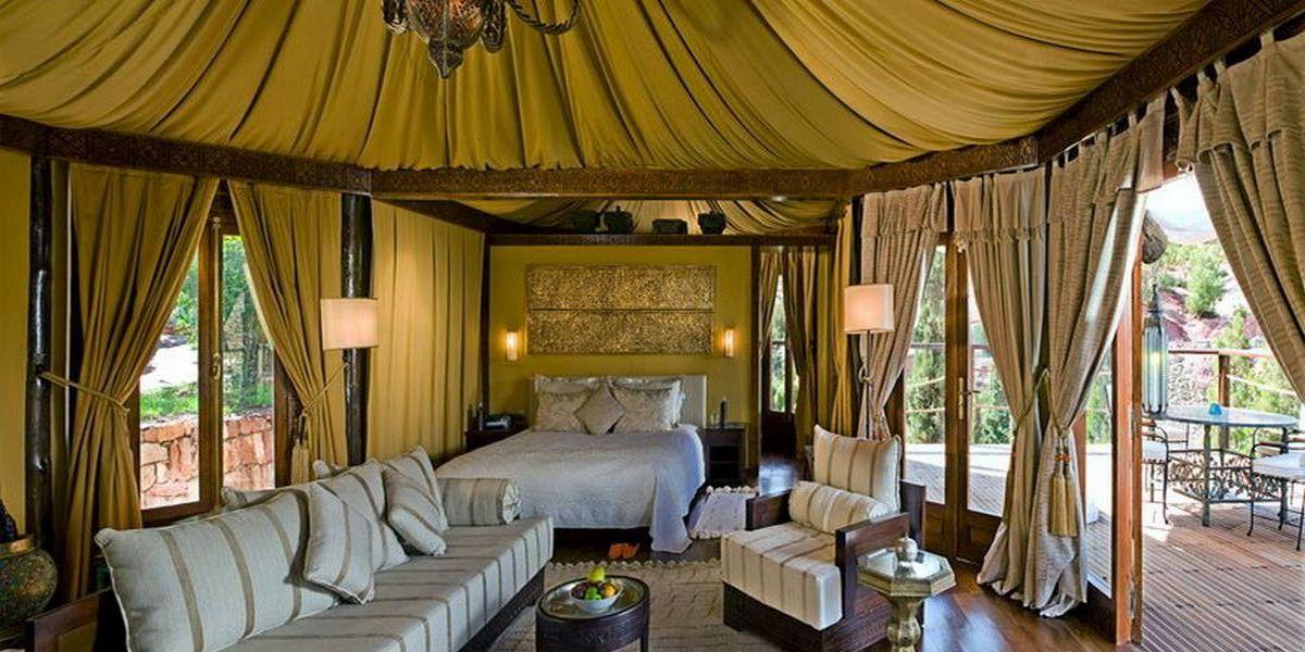 Отель Kasbah Tamadot - самый красивый отель Марокко 26