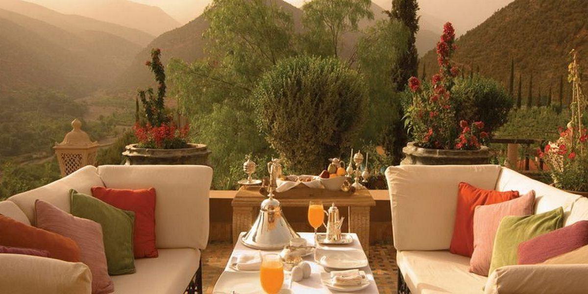 Отель Kasbah Tamadot - самый красивый отель Марокко 27