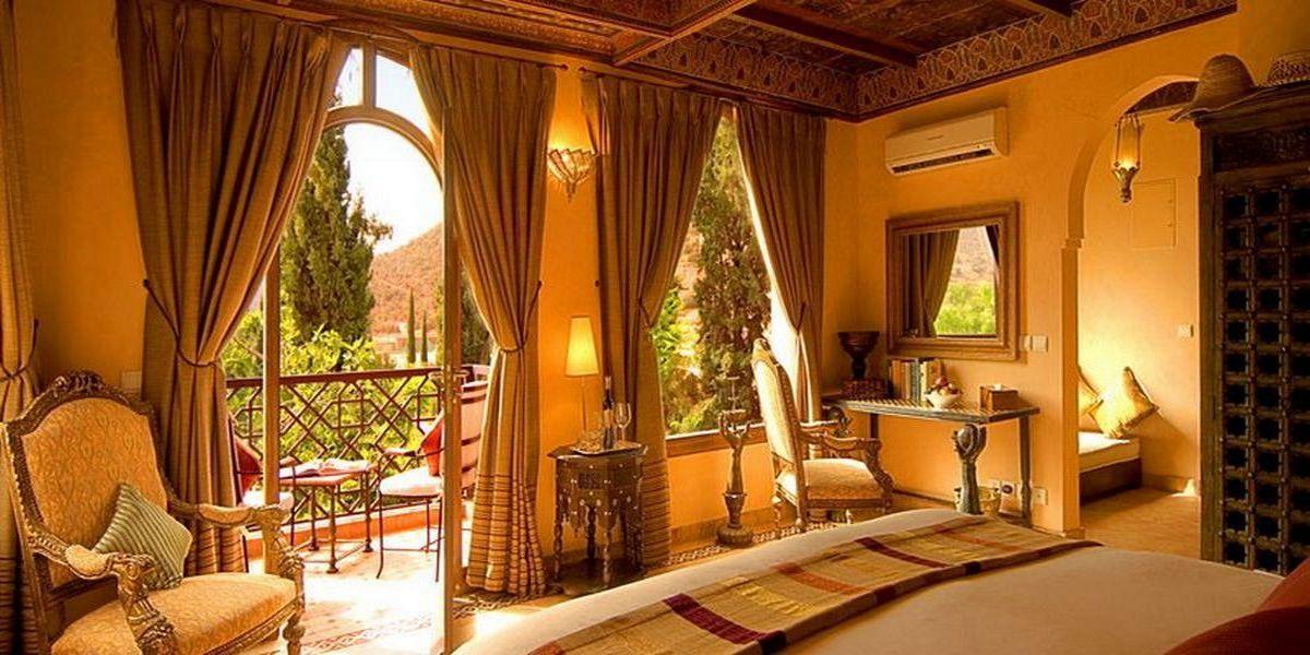 Отель Kasbah Tamadot - самый красивый отель Марокко 28