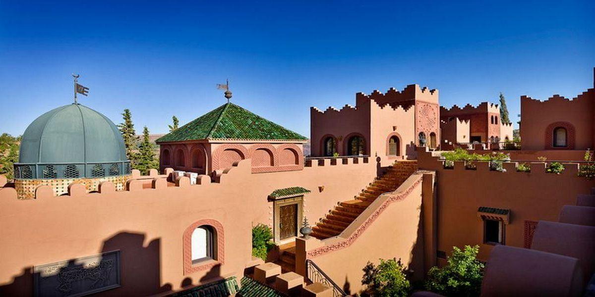 Отель Kasbah Tamadot - самый красивый отель Марокко 30