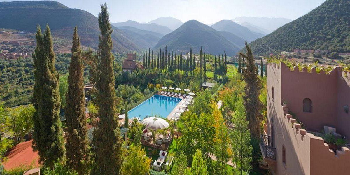 Отель Kasbah Tamadot - самый красивый отель Марокко 31