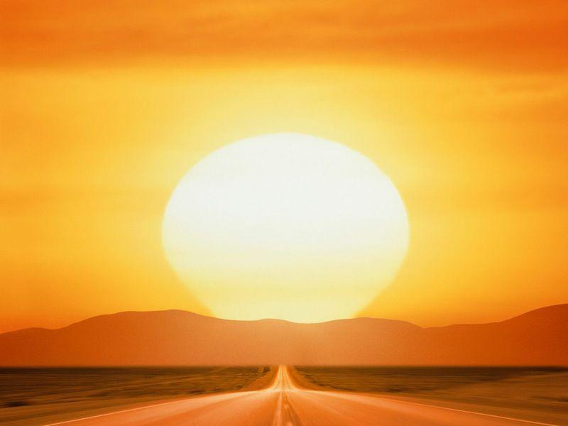 Красивые фото заката солнца - Savage Sunset