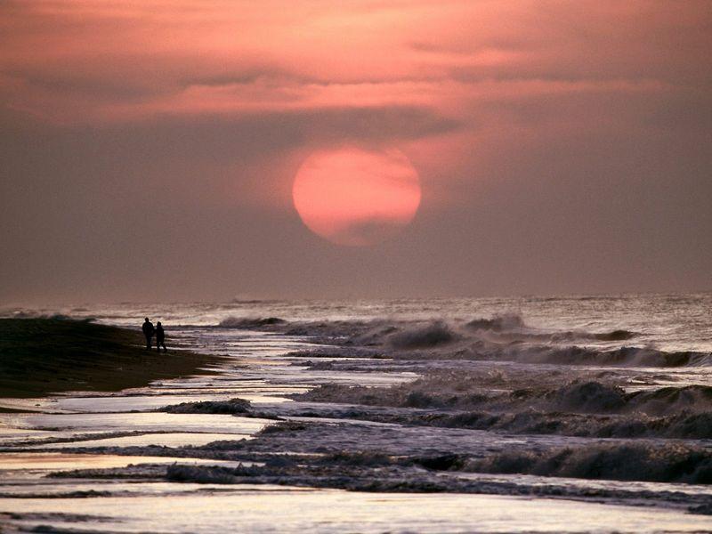 Красивые фото заката солнца - Shades of Summer