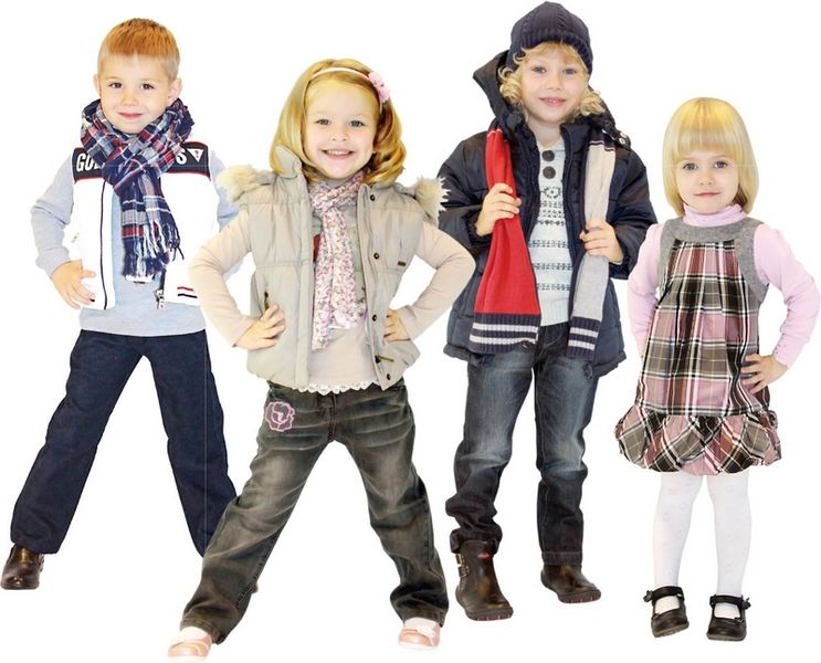 Детская одежда экспорт