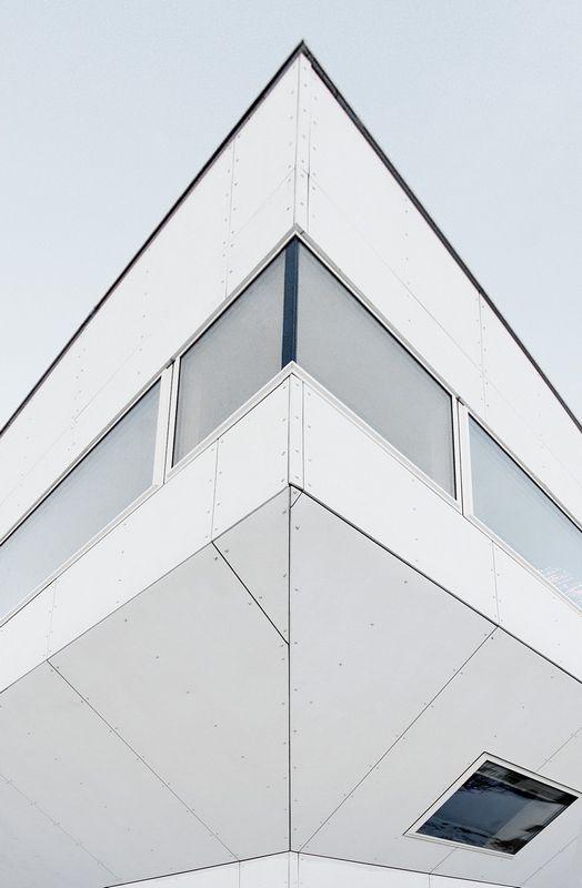 Компактный белый дом в Тронхейме 6