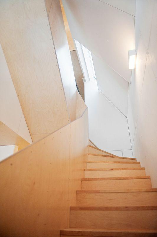 Компактный белый дом в Тронхейме 14