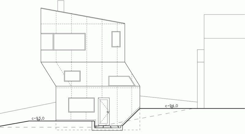 Компактный белый дом в Тронхейме 19