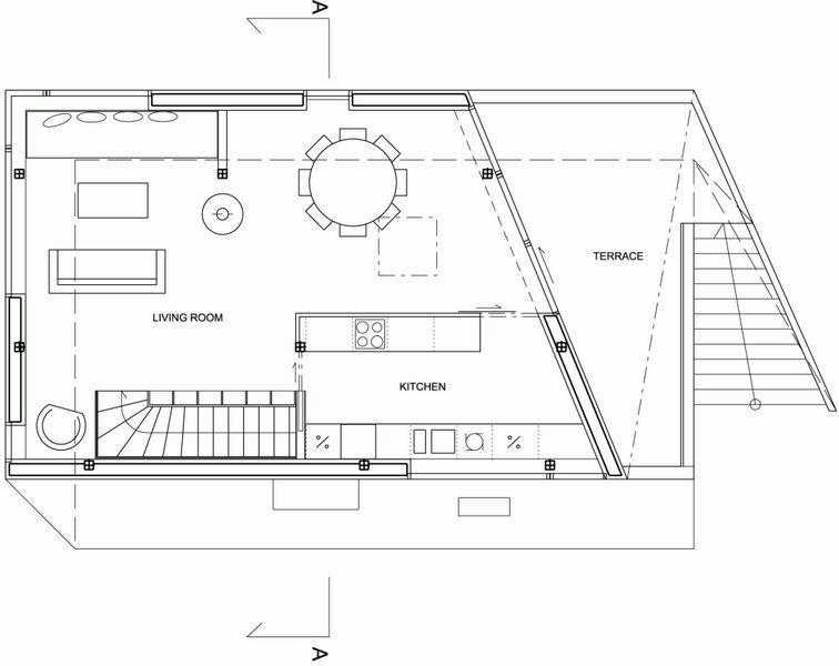 Компактный белый дом в Тронхейме 22