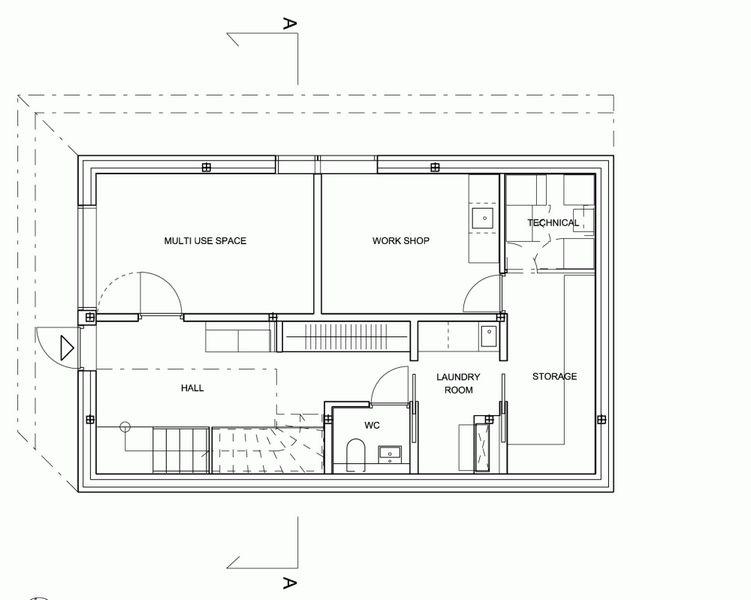 Компактный белый дом в Тронхейме 23