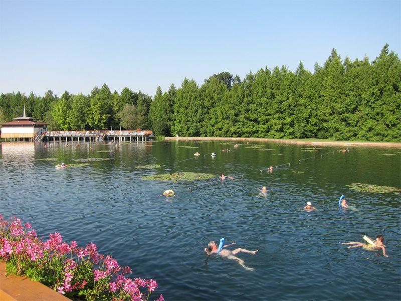 Лечебные воды озера Хевиз 4