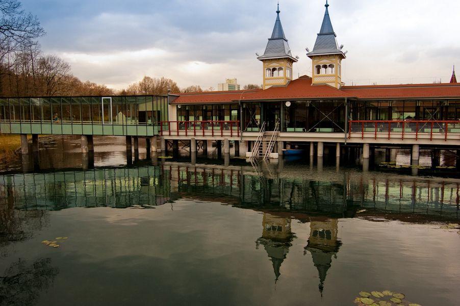 Лечебные воды озера Хевиз 8
