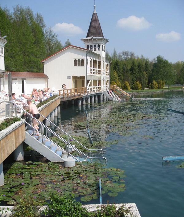 Лечебные воды озера Хевиз 9