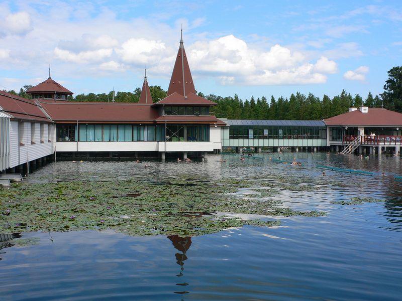 Лечебные воды озера Хевиз 10