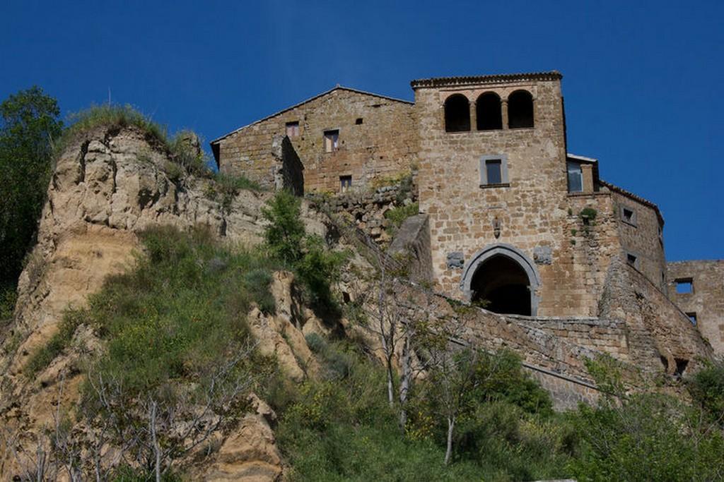 Мертвый город Civita di Bagnoregio 1