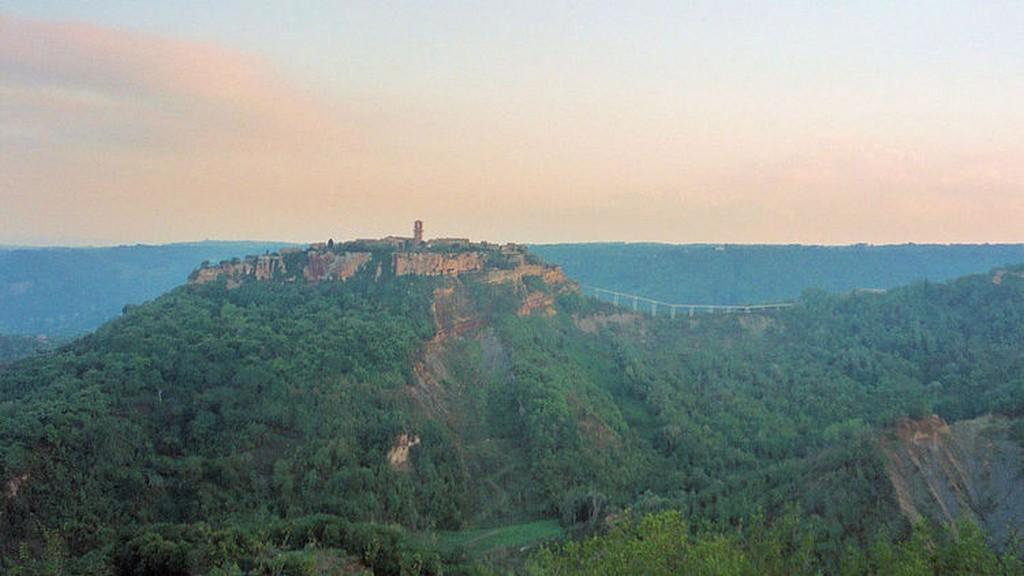Мертвый город Civita di Bagnoregio 2