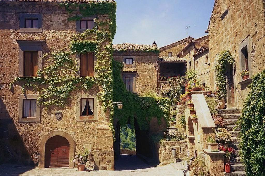 Мертвый город Civita di Bagnoregio 3
