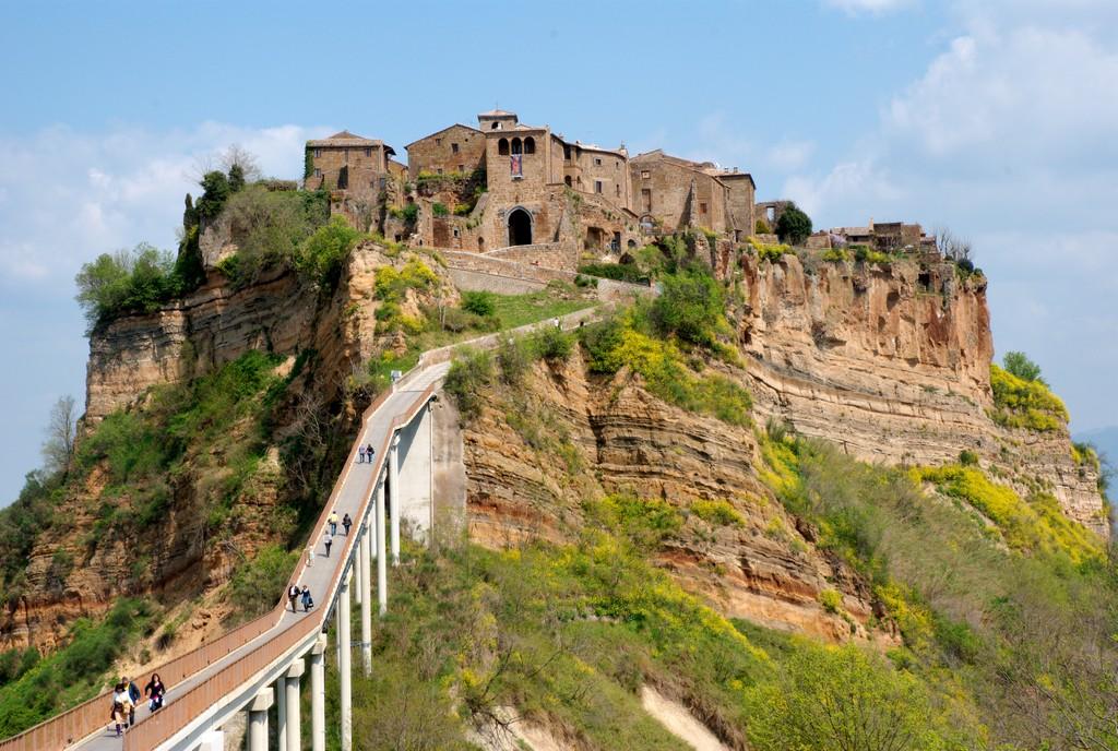 Мертвый город Civita di Bagnoregio 4